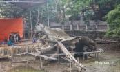 """Hà Nội đang tu sửa nơi """"an nghỉ"""" của pháo đài bay B52"""