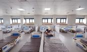 Cận cảnh Bệnh viện dã chiến điều trị bệnh nhân Covid-19 tại Hà Nội chuẩn bị đi vào hoạt động
