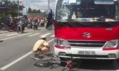Vĩnh Long: Xe khách Hoàng Đức gây tai nạn, tài xế rời bỏ khỏi hiện trường