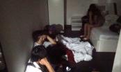 TP HCM: Hàng chục nam thanh nữ tú phê ma túy trong khách sạn