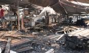 Bình Dương: Cháy xưởng gỗ gây thiệt hại hàng tỷ đồng