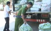 Nghệ An: Phát hiện và bắt giữ hơn 8 tấn rau quả không rõ nguồn gốc