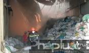 Bình Dương: Cháy lớn tại Công ty Lục Hiệp