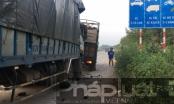 Bình Dương: Dừng sửa xe, tài xế bị xe tải cán tử vong