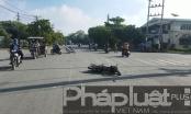 TP HCM: Hai xe máy va chạm, 1 người nguy kịch