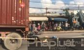 Bình Dương: Va chạm với xe container, 1 người tử vong