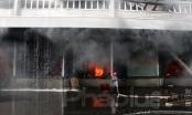 Bình Dương: Cháy lớn tại công ty sản xuất đồ gỗ