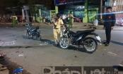 Bình Dương: Tai nạn liên hoàn giữa 4 xe máy, 5 người thương vong