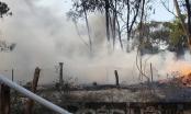 Bình Dương: Bãi chứa phế liệu bốc cháy dữ dội
