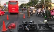 Bình Dương: Va chạm với xe khách, 1 người phụ nữ tử vong