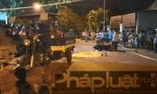 Bình Dương: Xe máy va chạm với xe ba gác, 1 bé gái tử vong