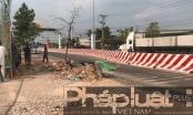 Bình Dương: Xe tải tông xe máy, 1 người tử vong