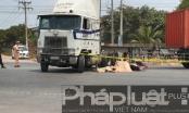 Bình Dương: Container tông xe máy, 1 người tử vong