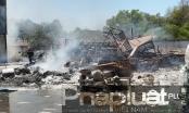Cháy lớn tại Công ty TNHH Dong Hwa Ceramic