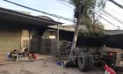 Bình Dương: Thùng container rơi đè trúng 2 xe máy, 1 người tử vong