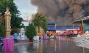 Cháy lớn tại Công ty TNHH TM DV Xử lý môi trường VK