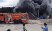 Cháy lớn tại công ty chuyên buôn bán vật liệu xây dựng tại TP Thủ Dầu Một