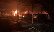 Bình Dương: Đang cháy lớn tại công ty sản xuất xốp