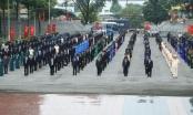 Bình Dương: Viếng nghĩa trang liệt sỹ nhân dịp Đại hội Đảng bộ tỉnh lần thứ XI