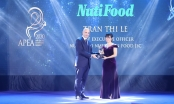 NutiFood lập 'hat-trick' với 3 giải thưởng Doanh nghiệp và lãnh đạo xuất sắc châu Á