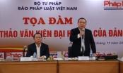 Tọa đàm Góp ý dự thảo văn kiện Đại hội XIII của Đảng tại Báo Pháp luật Việt Nam