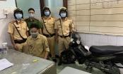 CSGT bắt giữ thanh niên say sỉn, nghi tàng trữ trái phép chất ma túy