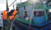 Nhiều phương tiện đánh bắt hải sản trái phép trong hành lang an toàn đường ống dẫn khí