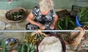 """Tây Ninh vào mùa làm """"bánh ú lá tre"""" truyền thống đónTết Đoan Ngọ"""