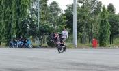 Hàng chục quái xế tụ tập đua xe trái phép tại khu vực Nghĩa trang Liệt sĩ tỉnh Đồng Nai