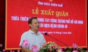 127 y, bác sĩ ở Thừa Thiên Huế hỗ trợ TP HCM và các tỉnh phía Nam phòng, chống dịch Covid-19