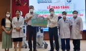 Bệnh viện Đa khoa Đồng Nai tiếp nhận 3 máy thở cao cấp để phục vụ điều trị bệnh nhân COVID-19 nặng