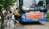 Bình Thuận đưa 15 người trong thùng xe đông lạnh về quê