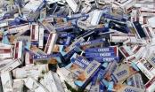 Hải Phòng: Bắt giữ 231 thùng thuốc lá lậu