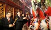 Chủ tịch nước Trần Đại Quang dâng hương tưởng nhớ các Vua Hùng