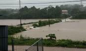 Phú Thọ: Mưa lớn một học sinh lớp 6 bị nước cuốn trôi