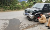 Hưng Yên: Xe biển xanh đâm chết một thai phụ