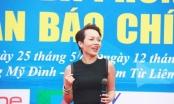 Thái Thùy Linh cháy hết mình tại lễ khai mạc giải bóng đá phong trào các cơ quan báo chí Presscup 2016