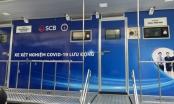 Bộ Y tế bàn giao 2 xe xét nghiệm lưu động Covid-19 cho TP Cần Thơ