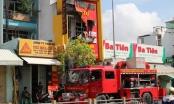 TP HCM: Cháy cửa hàng bếp điện từ, 4 người tử vong