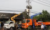 Trạm biến áp phát nổ, hai nhân viên điện lực bị bỏng nặng