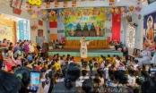 Gần 1.000 trẻ em tới chùa vùng hạn mặn Gò Công Đông vui Trung thu