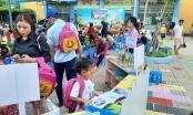 Trường Mầm non Bông Sen tổ chức Ngày hội đọc sách cho bé