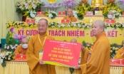 Đại hội Phật giáo Q.1 ủng hộ 100 triệu mua Vacxin phòng chống Covid-19