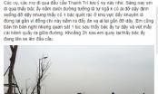 Hà Nội: Nghi vấn người đàn ông vờ ngã, hòng ăn vạ trên cầu Thanh Trì