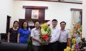 Đảng ủy, BBT Báo PLVN chúc mừng tân Bộ trưởng Bộ Tư pháp Lê Thành Long
