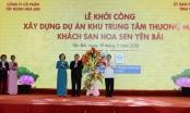 Tập đoàn Hoa Sen khởi công dự án BĐS 1.200 tỷ đồng tại Yên Bái