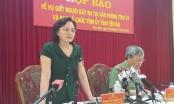 Chiều nay họp báo kết luận vụ án giết người tại Tỉnh ủy Yên Bái