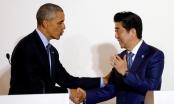 Tổng thống Obama và Thủ tướng Abe bắt tay về Biển Đông
