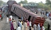 Pakistan: Tai nạn tàu hỏa nghiêm trọng, gần 160 người thương vong