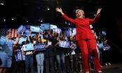 Bà Clinton tỏa sáng, làm nức lòng khán giả đêm tranh luận